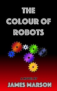 Colour of Robots red background